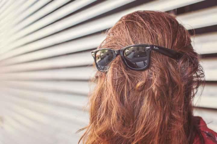 sunglasses woman girl faceless